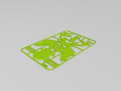 拼插驯鹿-3d打印模型