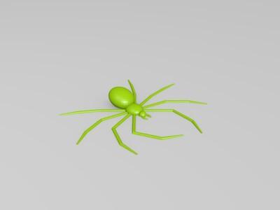 逼真蜘蛛-3d打印模型