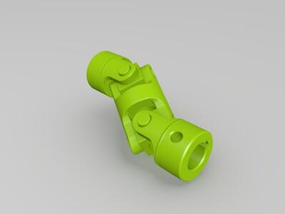 万向节联轴器-3d打印模型