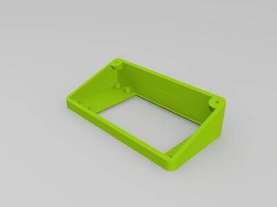 3D打印机显示屏盒子-3d打印模型