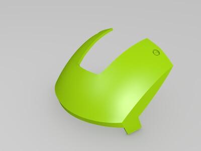 钢铁侠MK3 面部盔甲-3d打印模型