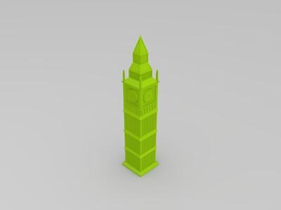 大本钟-3d打印模型