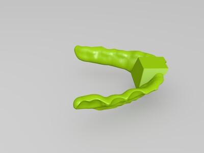 牙模-3d打印模型