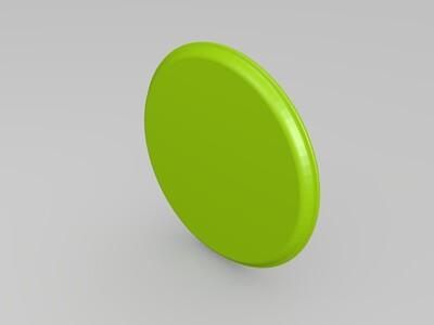 杯盖-3d打印模型