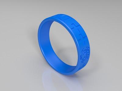 海贼王特拉法尔加罗戒指1-3d打印模型