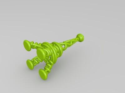 创意巴黎铁塔-3d打印模型