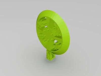 法轮-3d打印模型