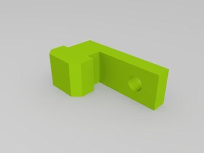平台固定部件-3d打印模型