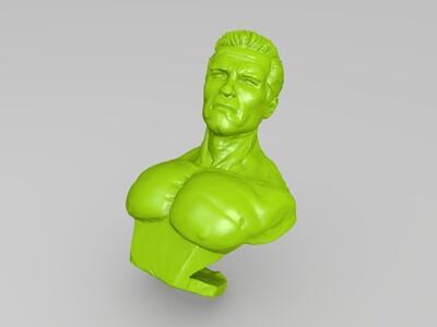 人头像-3d打印模型