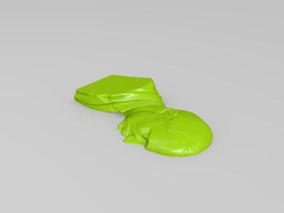 普京-3d打印模型