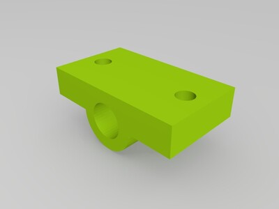 I3打印机光轴固定座-3d打印模型