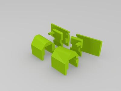 G1 Q版狂飙 可变形-3d打印模型