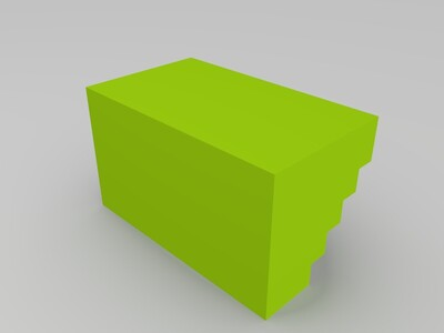 夹持头工具盒-3d打印模型