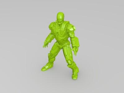 钢铁侠 战争机器-3d打印模型