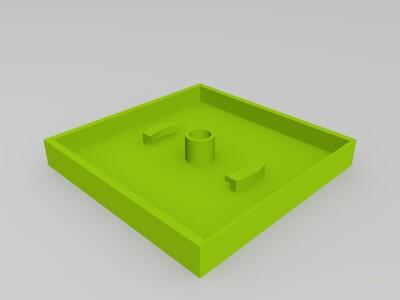 爱情温馨小屋立体相片浮雕灯-3d打印模型