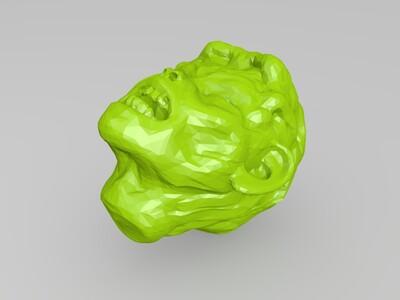 guai怪兽-3d打印模型