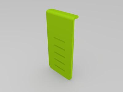 可调手机支架-3d打印模型
