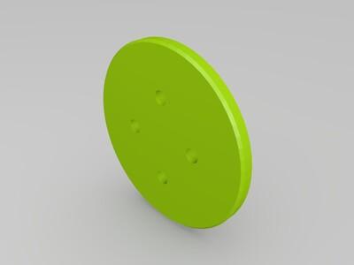 行星齿轮传动模型-3d打印模型