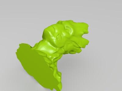 树人-3d打印模型