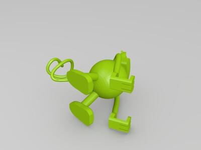 iphone手机支架-3d打印模型