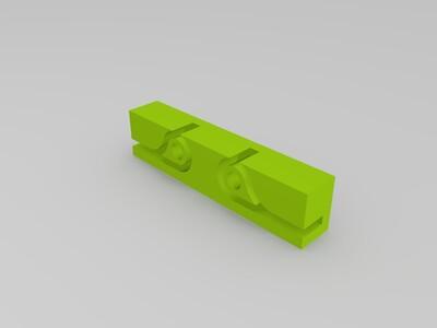 同步带夹子-3d打印模型