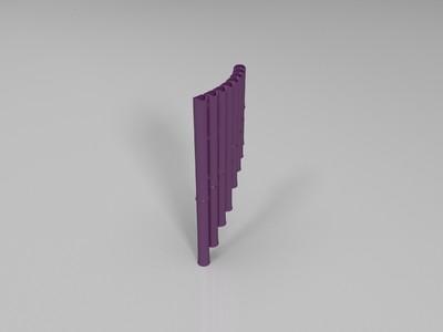 排笛-3d打印模型
