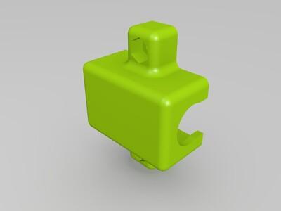 I3 Y轴直线轴承安装固定座-3d打印模型