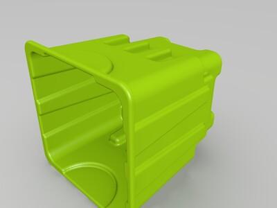 沙丘城堡、沙子玩具-3d打印模型