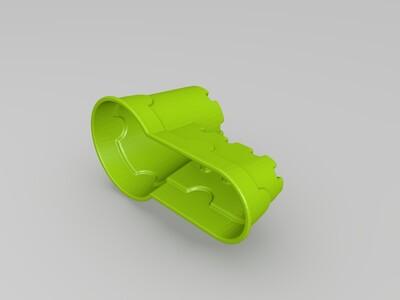 沙丘城堡,沙子玩具02-3d打印模型