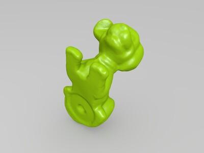 小狗模型-3d打印模型