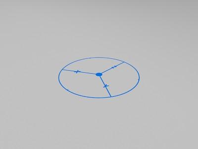 3D打印 调平测试-3d打印模型