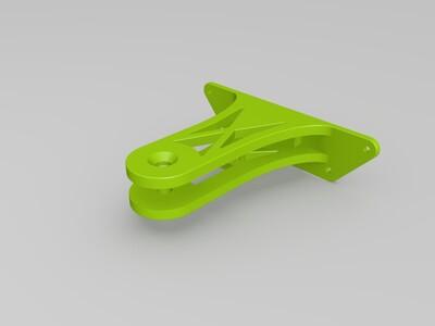 改进版小米酷狗多轴飞行器高稳云台-3d打印模型