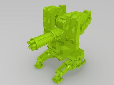 原子模型-3d打印模型