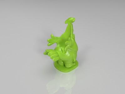 鸡厨师-3d打印模型