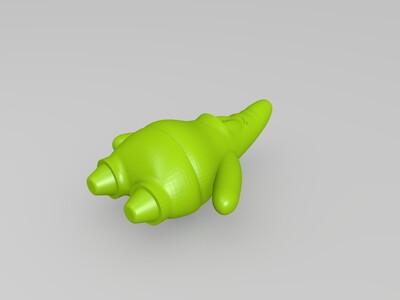 派大星。海绵宝宝的好朋友-3d打印模型