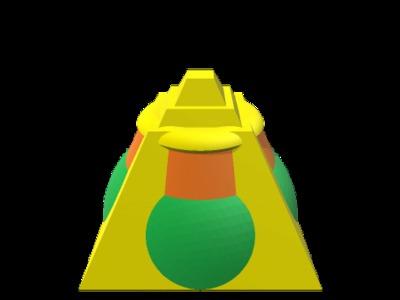 金字塔2-3d打印模型