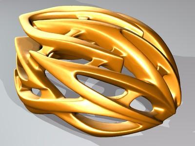 骑行帽-3d打印模型