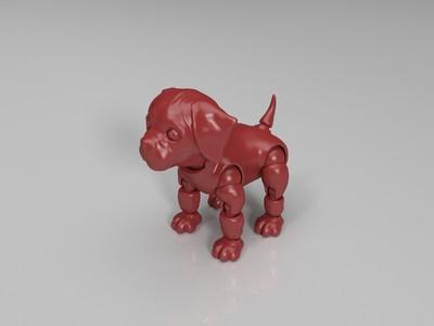 关节活动狗-3d打印模型