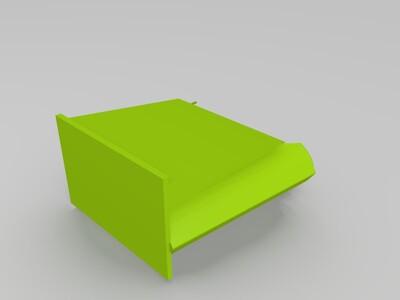 薯条盒二维码支架-3d打印模型