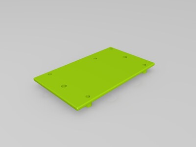Arduino MEGA 2560支架-3d打印模型