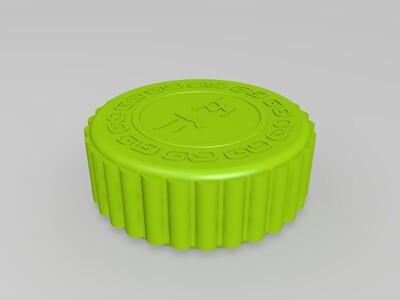月饼-3d打印模型