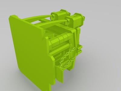 部落冲突大本营-3d打印模型