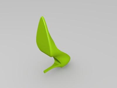 精品高跟鞋-3d打印模型