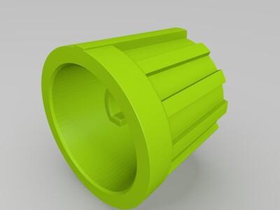 旋钮6mm-3d打印模型