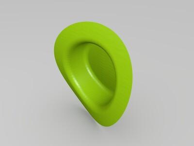 草帽-3d打印模型