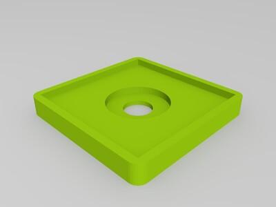 手机指环支架 -3d打印模型