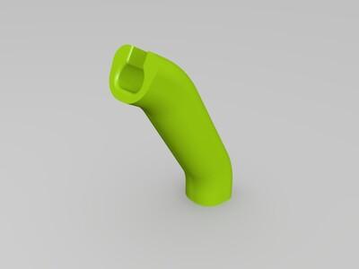购物把手-3d打印模型