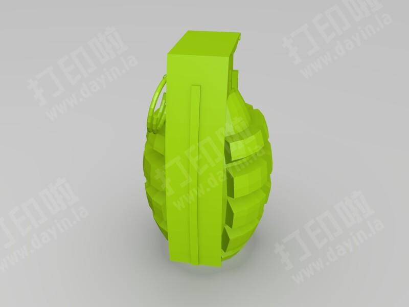 手榴弹-3d打印模型