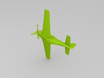 P-51D野马-3d打印模型