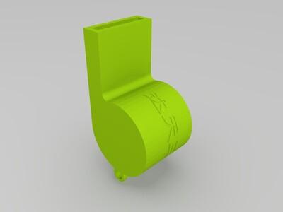 口哨-3d打印模型